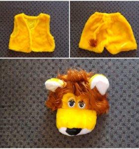 Детский маскарадный костюм львенка