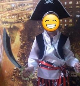 """детский маскарадный костюм """"Пират"""""""