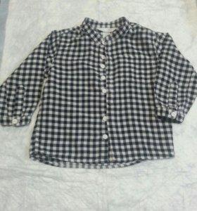 РубашкаHM, 9-12мес, 80-52