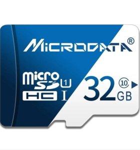 MicroSD карта 32GB