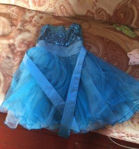 Детское платье от полутора до двух лет