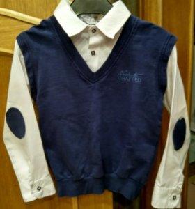 Рубашка - обманка