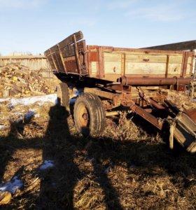 Тракторная телега , с гидравликой