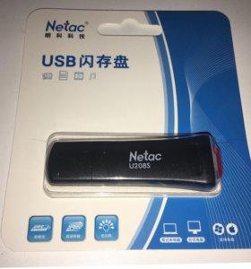 USB Flash флешка Netac с защитой от записи новая 1