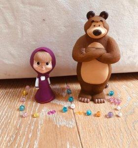 Играшка Маша и Медведь