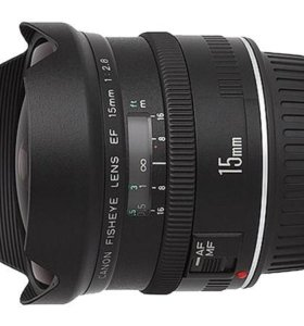 Объектив Canon Fisheye EF 15 mm f/2.8