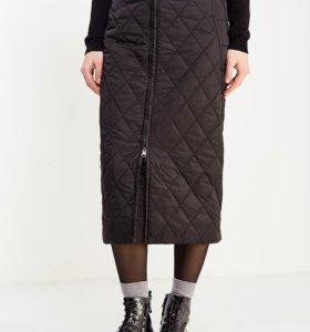 Юбка стеганая Finn Flare с утеплителем. 48 размер