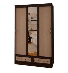 Шкаф-купе МОДЕРН 1,35м BTS мебель