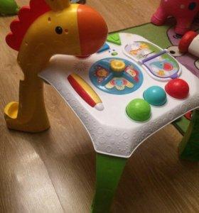 Развивающий столик Фишер прайс