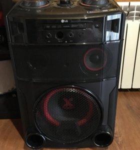 Музыкальная система LG новая