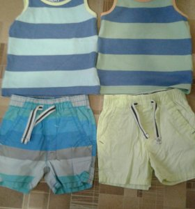 Одежда для двойни,на 2-3 года