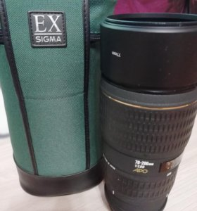 Объектив SIGMA APO 70-200 EX для NIKON