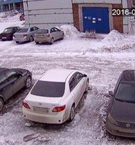 Система видеонаблюдения за автостоянкой