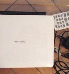 Портативный DVD плеер Toshiba