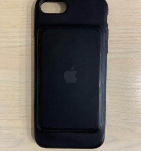 Чехол Smart Battery Case для iPhone 7/8