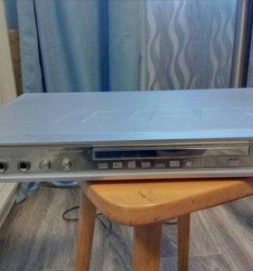 Проигрыватель DVD дисков +сабвуфер с колонками