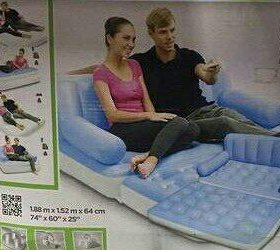 Надувной матрас-диван