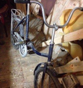 Велосипед, складной.