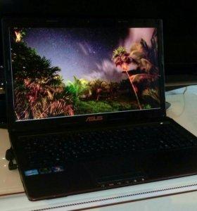 Мощный металлический ноутбук на i7