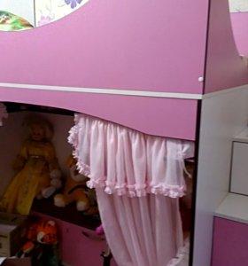 кровать детская для девочки