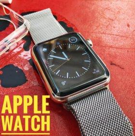 Apple Watch 42 mm стальные
