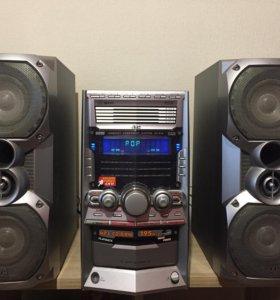Музыкальный центр JVC-HX-Z10