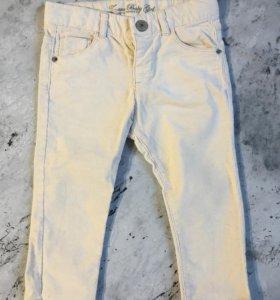 Вельветовые брюки Zara 86