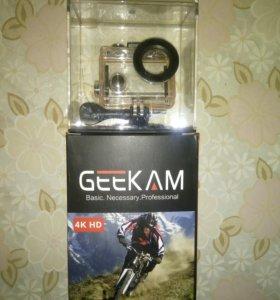 Водонепроницаемая мини- камера Geekam 4K HD