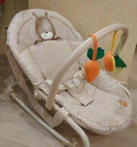 Кресло-шезлонг Happy Baby Woody