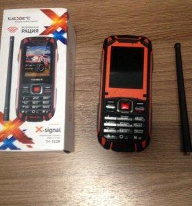 Бронированный teXet X-signal