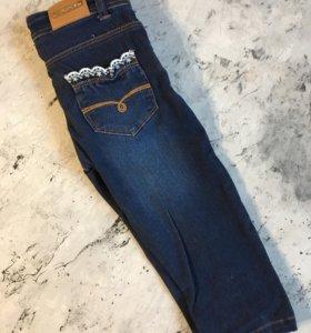 Темно-синие джинсы 86 р-р