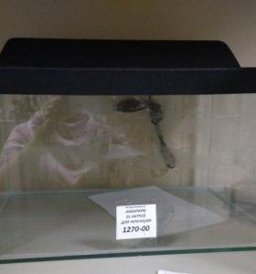 Аквариум для черепах 25 литров