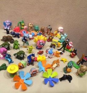 50 киндер игрушек