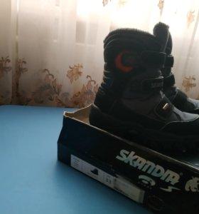 Зимние ботинки Skandia 33р.