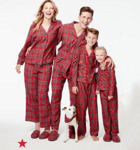 Новогодний семейный комплект, Family Look