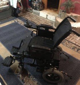 Коляска-инвалидная P9000XDT с электроприводом