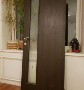 Двери межкомнатные с фурнитурой и замками