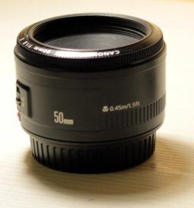 Объектив Canon LENS EF 50mm 1:1,8 II
