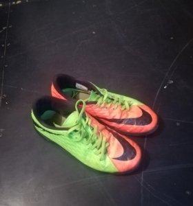 Бутсы Nike HYPERVENOM X(Сороконожки)