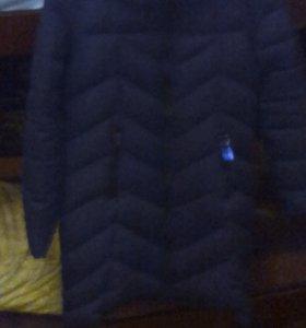 Куртка чёрная и белая