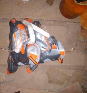 Роликовые коньки 35-38 размер