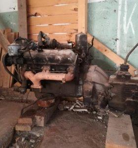 Двигатель первой комплектации на ЗИЛ-131