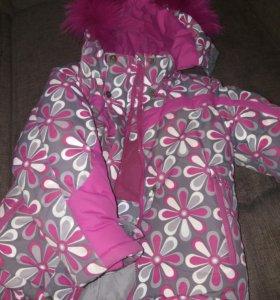 Зимняя куртка 116 см