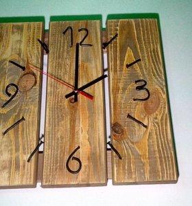 Часы настенные в стиле лофт