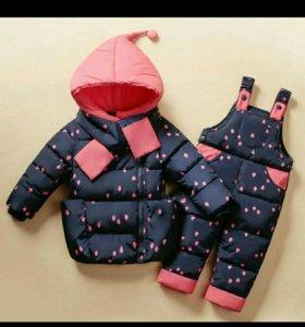 Детский костюм (комбез и куртка)
