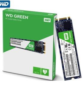 SSD M.2 накопитель WD Green 120 ГБ