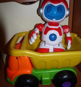 машина и робот