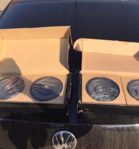 Штатные колонки от VW polo sedan