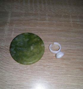 Камень для клея, кольцо в подарок