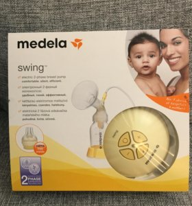 Молокоотсос Medela Swing.Все в комплекте!+Подарки